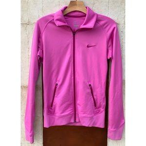 Pink Nike Zip Up Jacket